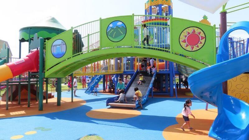 道の駅宜野座の公園の遊具
