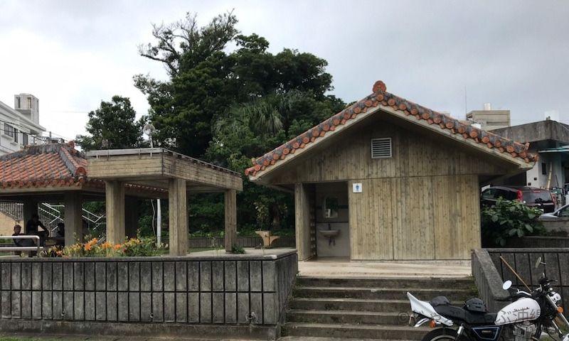 大川児童公園のトイレ