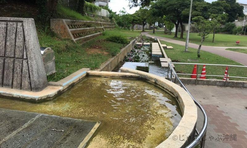 大川児童公園のじゃぶじゃぶ池