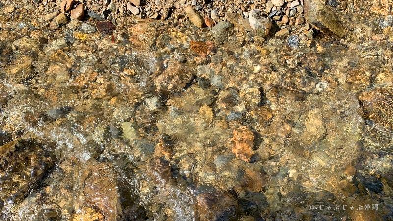 平南川の透明度